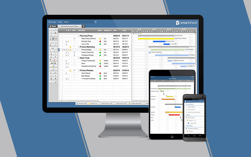 Smartsheet- project management tool