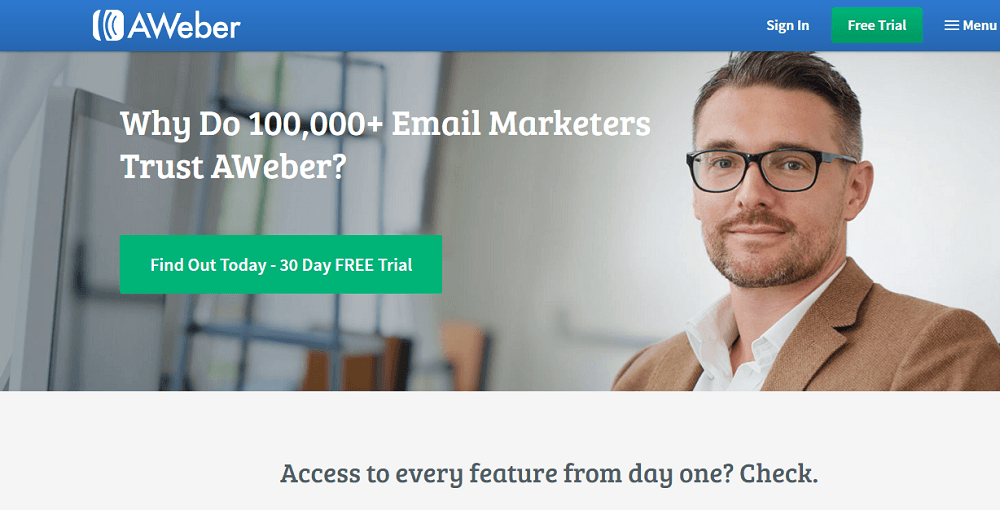 AWeber Automation Marketing Tool