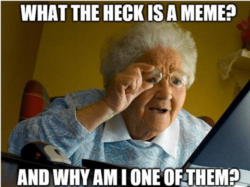 Memes- visual content marketing