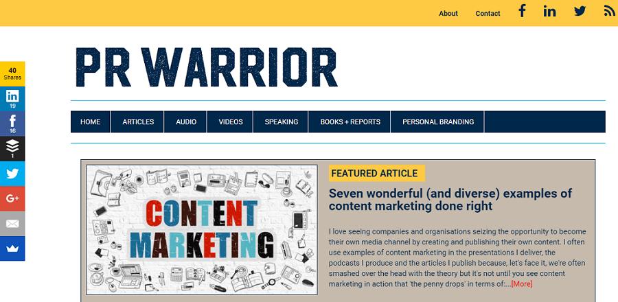 PR Warrior digital marketing