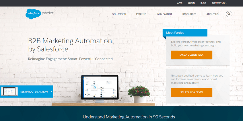 Pardot Automation Marketing Tool