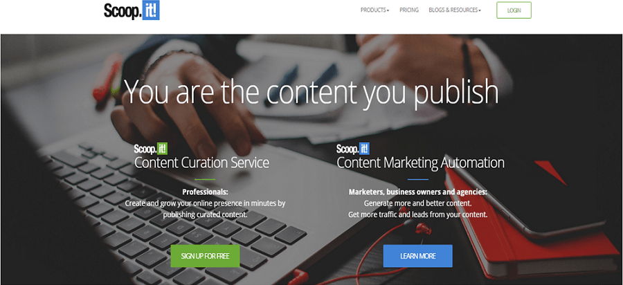 Scoop.it Content Curation Tool