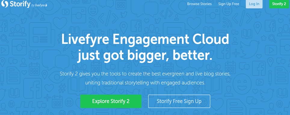Storify Content Curation Tool