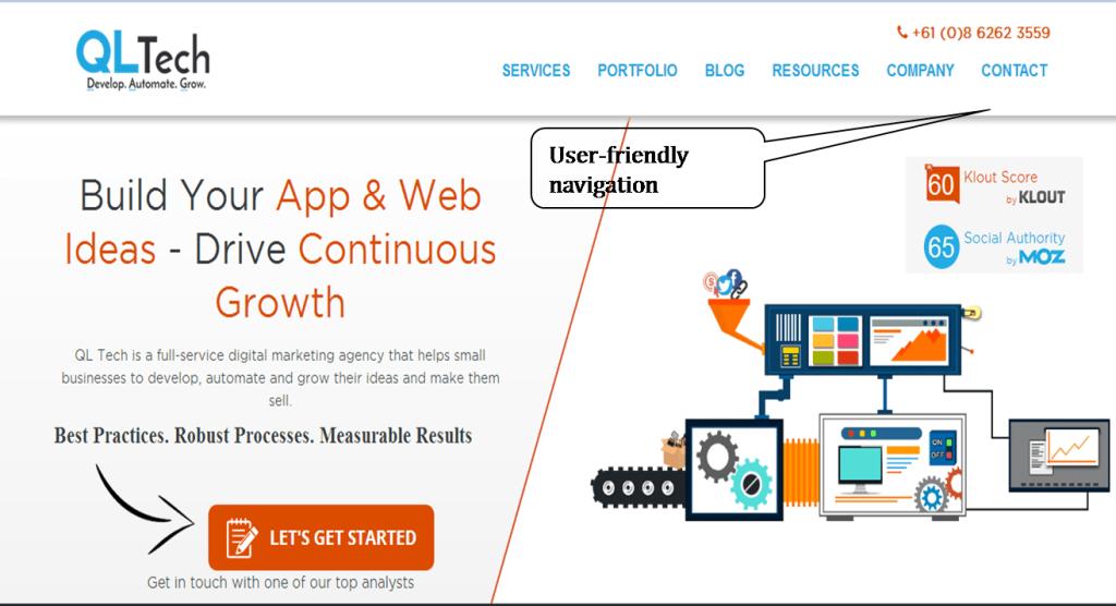 User-friendly E-commerce Website Design
