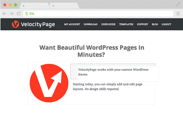 Wordpress-Velocity-page