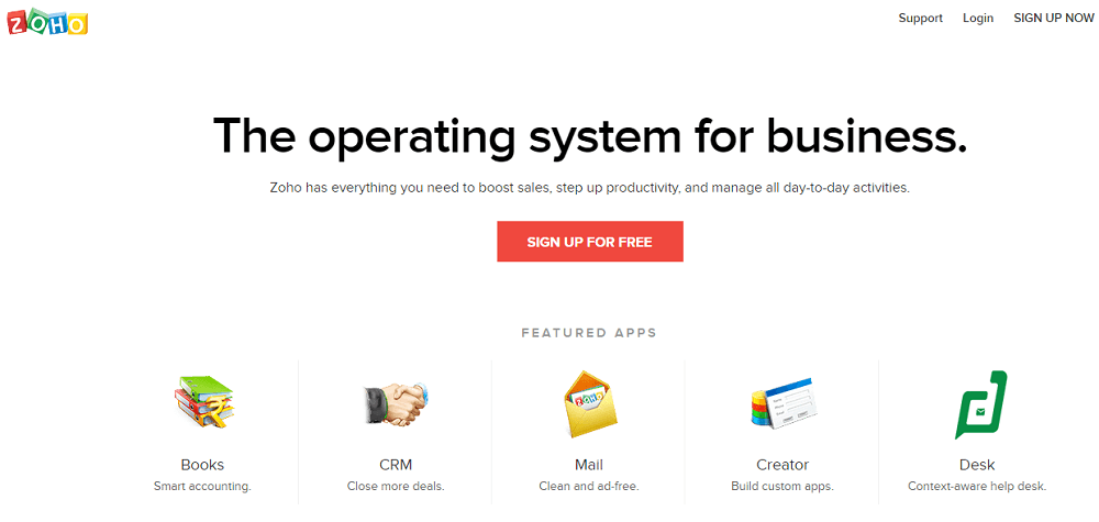 Zoho Automation Marketing Tool